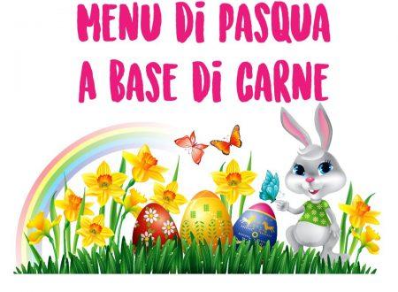 Menu di Pasqua a base di carne