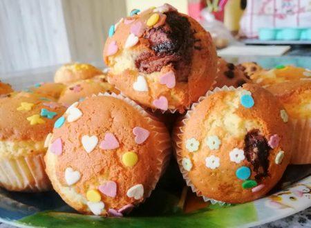 Muffin super morbidi con sorpresa