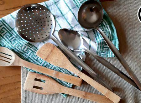 Come pulire tutti gli utensili da cucina