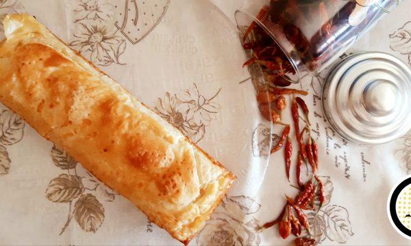 Plumcake salato di sfoglia ripieno con patate