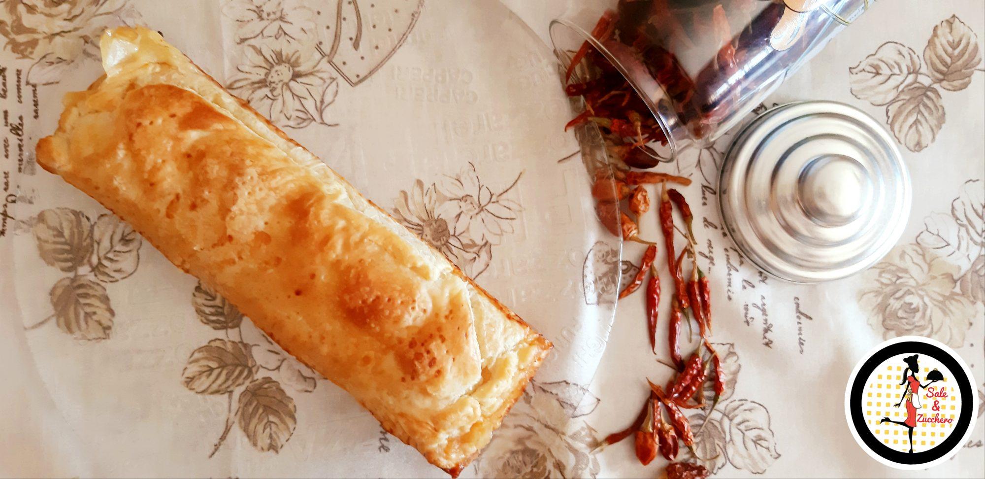 Plumcake salato di sfoglia ripieno