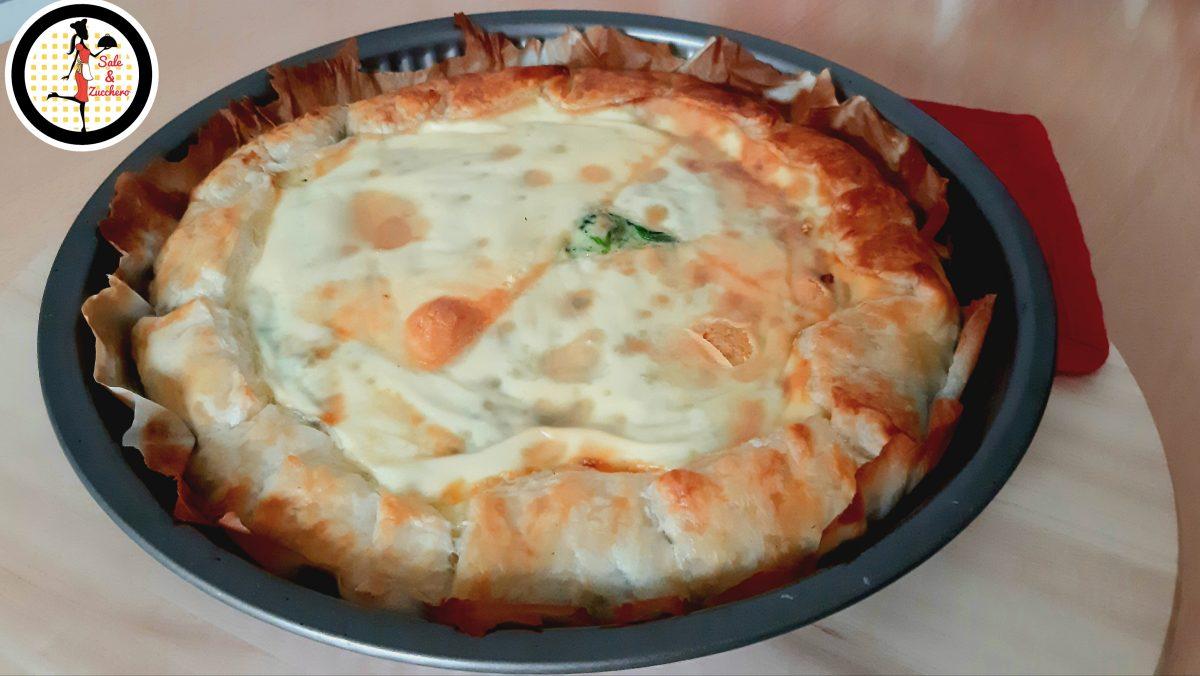 Torta salata agli spinaci - La Torta di Braccio di Ferro
