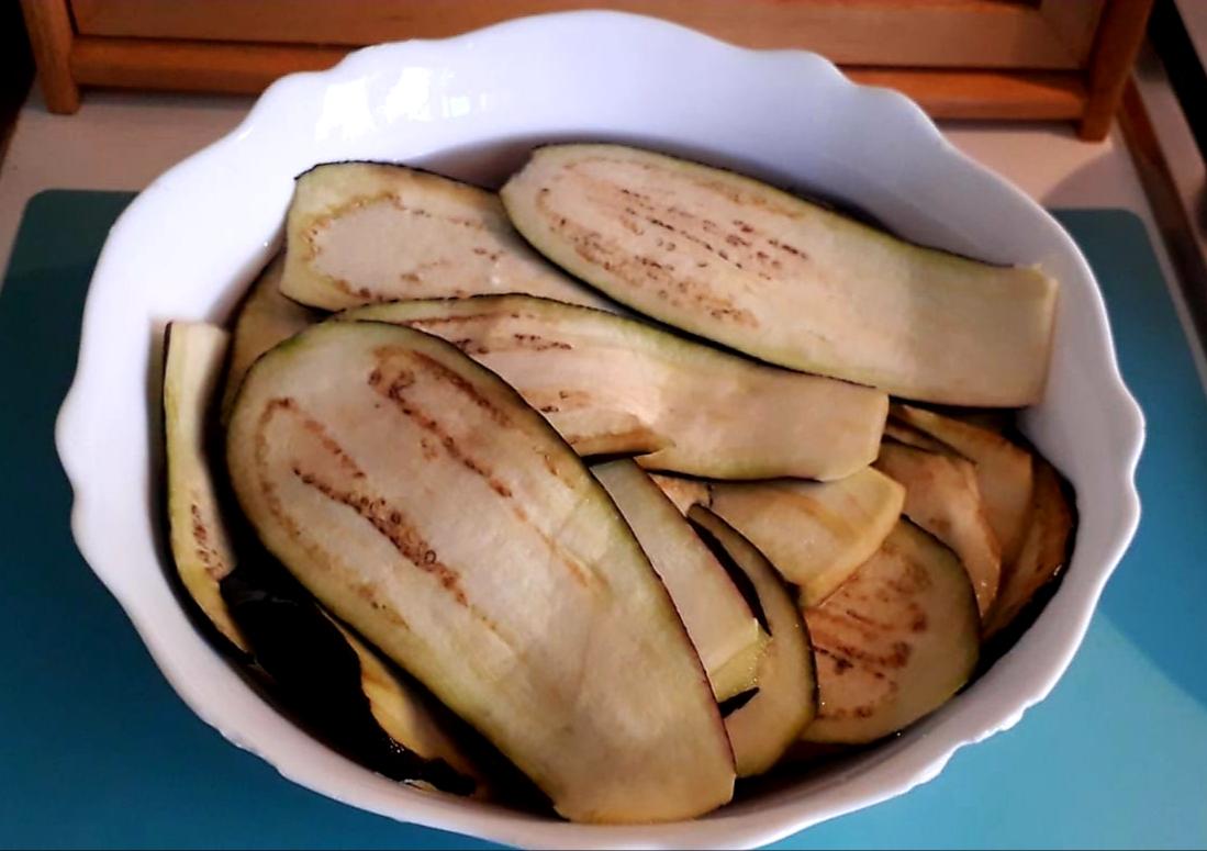 Spiedini di melanzane e polpette