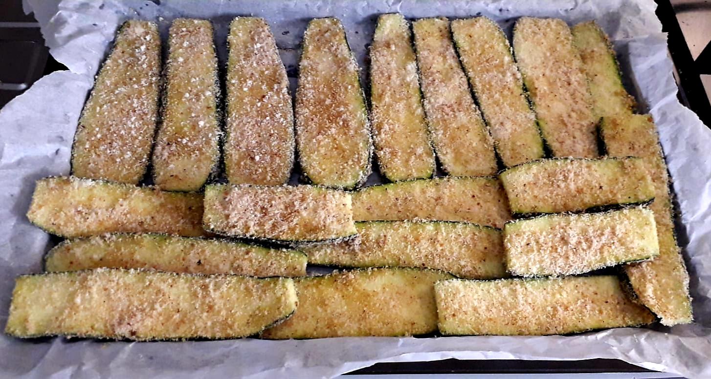Girelle di zucchine al forno