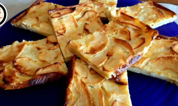Torta di mele in teglia – Senza lievito