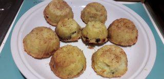 Tortini di patate e funghi