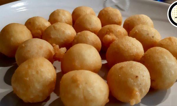 Palline fritte di purè di patate – Super veloci