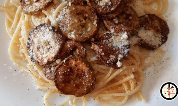 Pasta con la zucchina fritta – Ricetta siciliana
