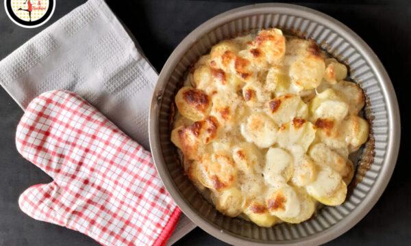 Patate al forno filanti – Ricetta facile e veloce