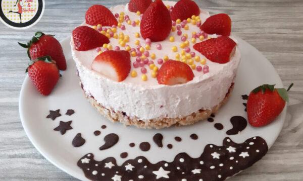 Cheesecake alle fragole – Ricetta facile e veloce