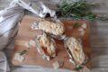 Patate ripiene con gorgonzola e besciamella