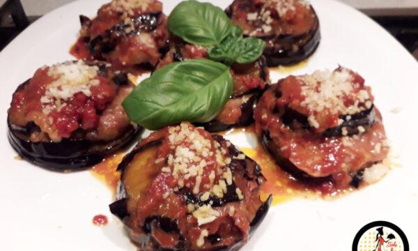 Sformatini di melanzane alla parmigiana – Idea buffet!
