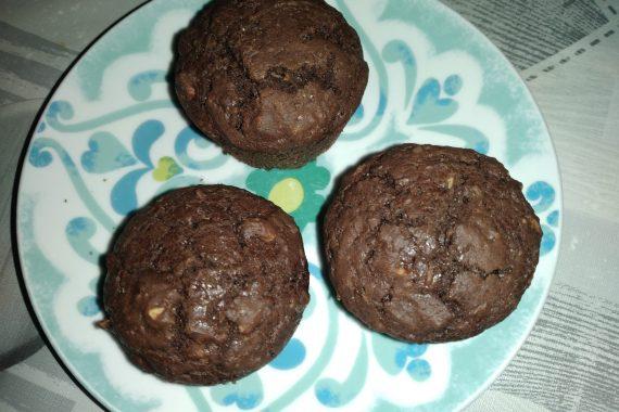 """""""Muffin al Cioccolato e Mandorle"""""""