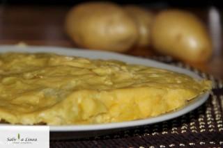 Torta purè (257 calorie a porzione)