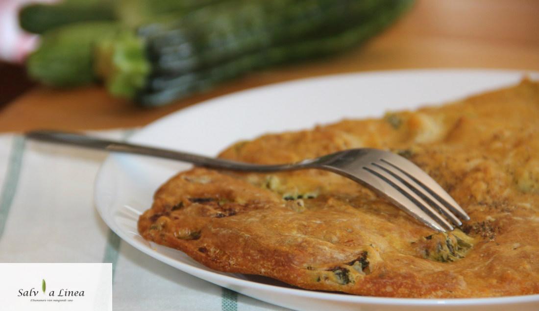 Torta zucchine chiusa (239 calorie)