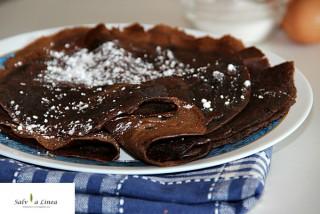 Crepes al cacao (97 calorie a porzione)