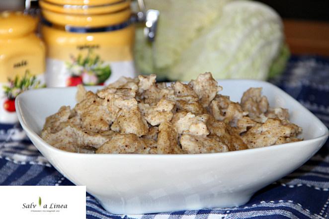 Spatzle al farro (208 calorie a porzione)