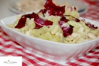 Insalata patate e gnocchetti sardi (196 calorie a porzione)