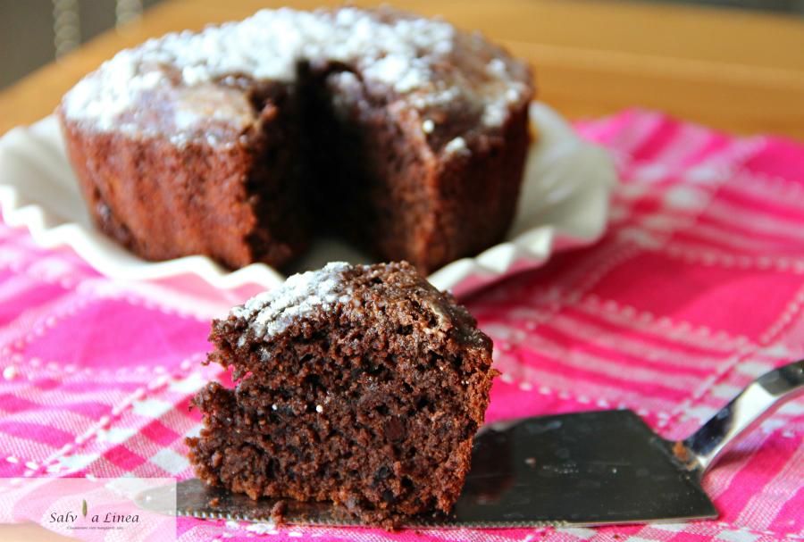 Torta light al cacao (134 calorie a porzione)