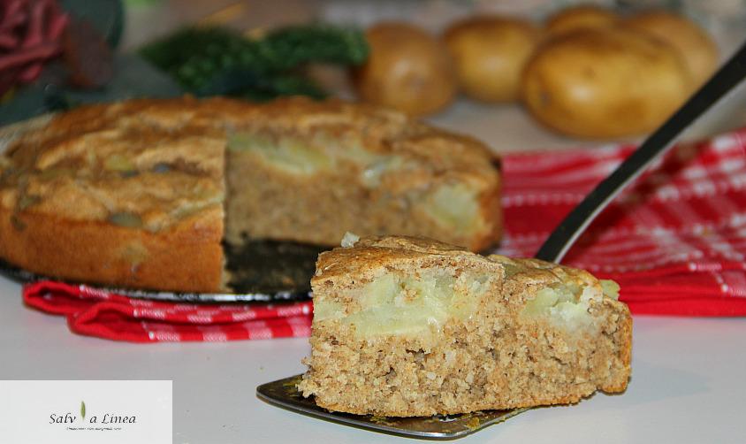 Torta salata a impasto molle (139 calorie a porzione)