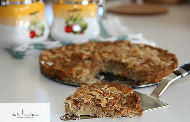 Torta porridge (163 calorie a porzione)