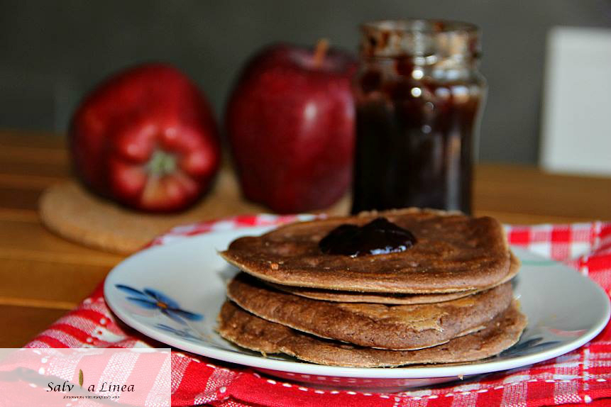 Pancakes integrali (62 calorie a porzione)