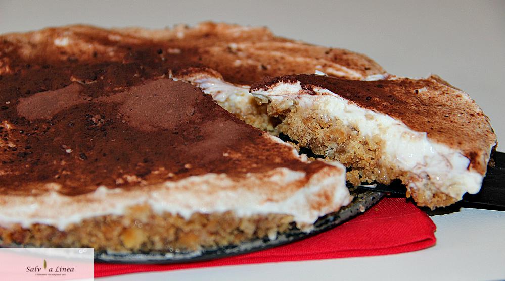 Cheesecake light al cacao (262 calorie a porzione)