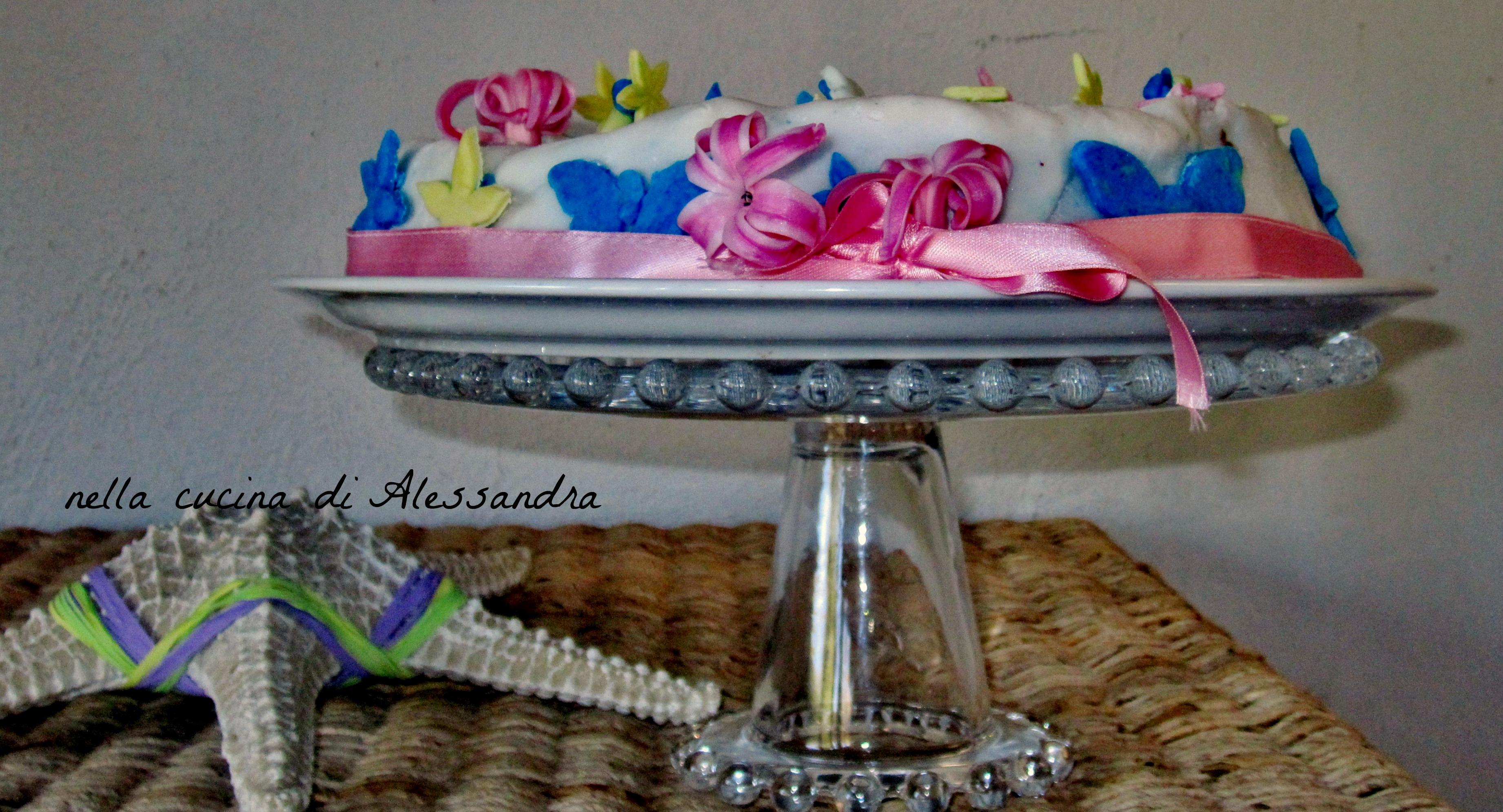 torta di pasta di zucchero