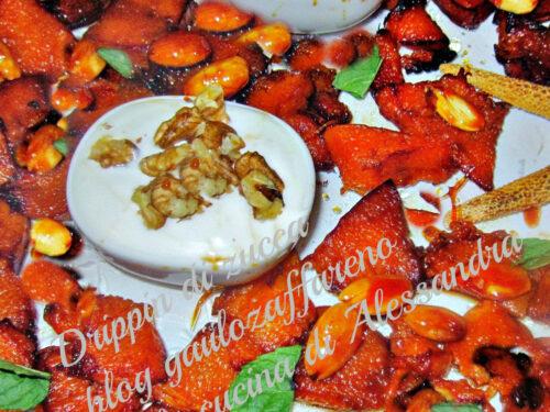 Zucca | con mandorle e noci  ricetta vegetariana
