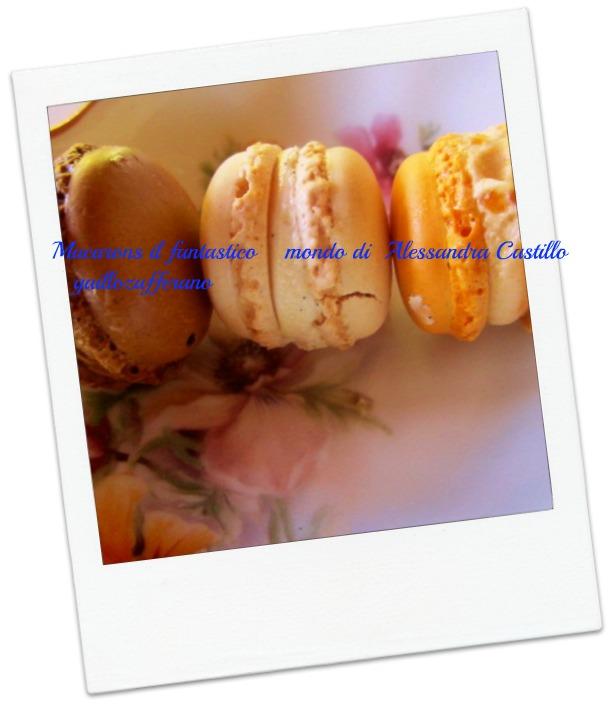 macarons il fantastico mondo di Alessandra Castillo