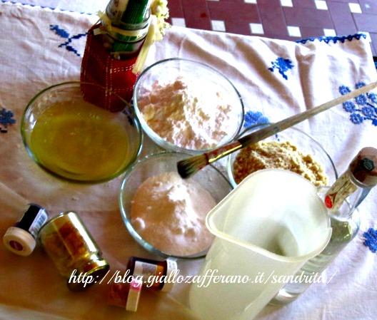 ingredienti per i macarons
