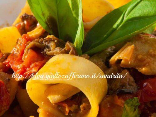 Paccheri al  tonno fresco| Ricette primi piatti | Il fantastico mondo di Alessandra