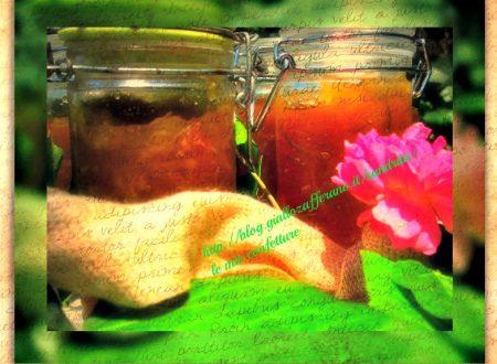 confetture e marmellate | di zenzero mele e viole| il fantastico mondo di Alessandra