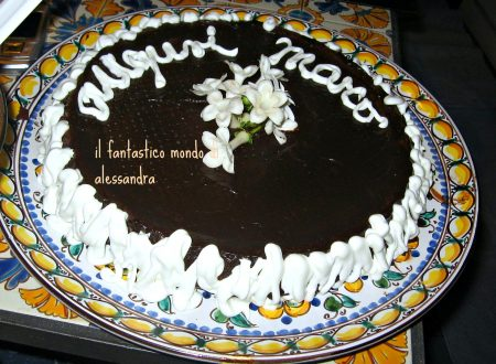 torta cuore morbido -ricette dolci cioccolato