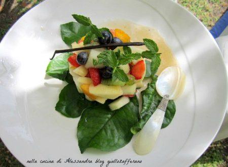 Tartara di frutta | Ricette esotiche vegan | Il fantastico mondo di Alessandra