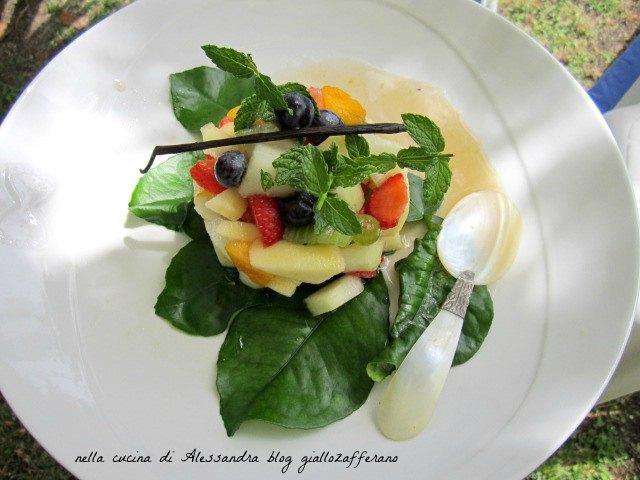 tartara di frutta fresca