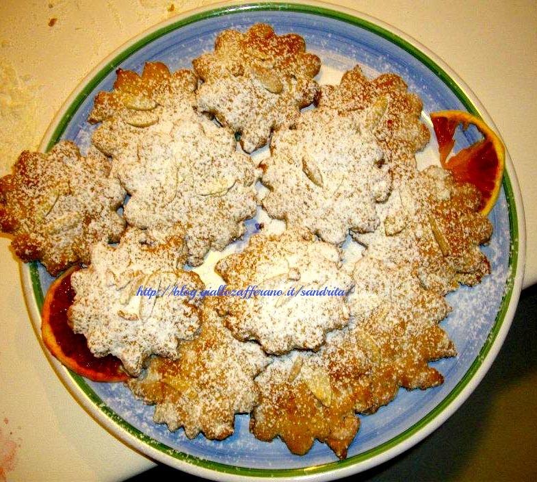 biscotti di miele e mandorle / ricetta siciliana/ nella cucina di alessandra