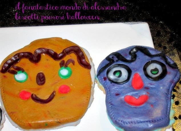 biscotti paurosi / halloween / il fantastico mondo di alessandra