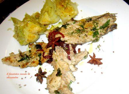 Ricette di pesce secondi / sauro marinato