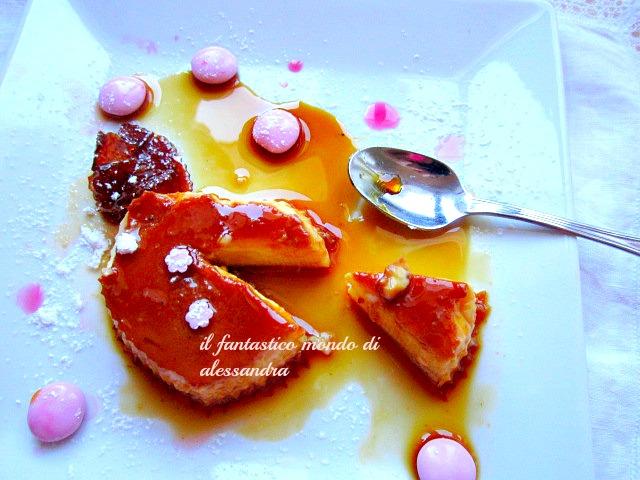 flan al caramello / dolci al cucchiaio / il fantastico mondo di Alessandra