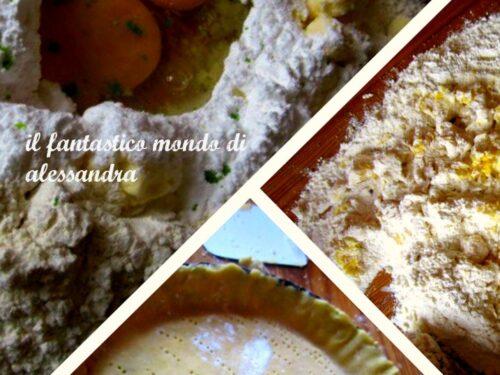 Pasta frolla ricetta | Il fantastico mondo  di Alessandra Castillo