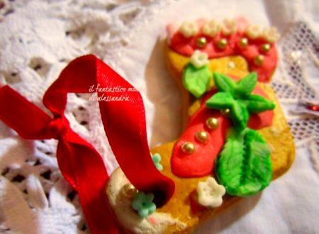 Biscotti decorati per albero natale .Alessandra Castillo