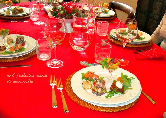 La tavola di natale come decorarla con stile raffinatezza - La tavola di melusinda ...