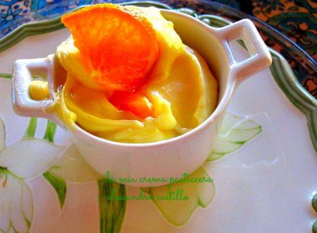 Crema pasticcera/ ricetta celiaci/ giallo zafferano