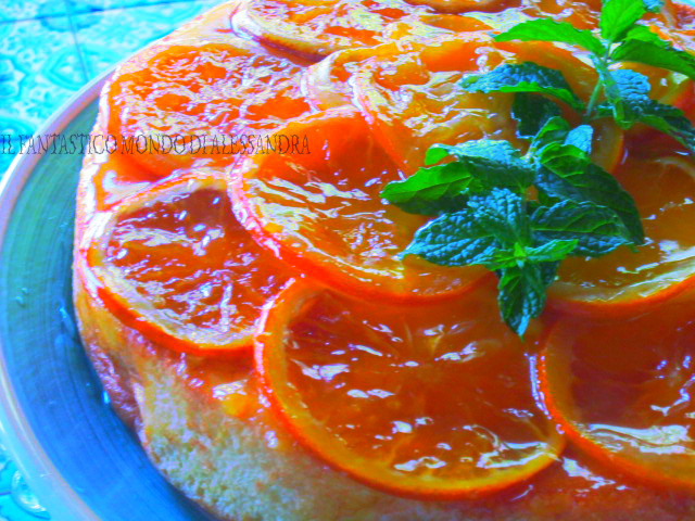 Mud cake all'arancia