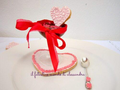 Ricette dolci per san valentino crema di cioccolato e agrumi con biscotti