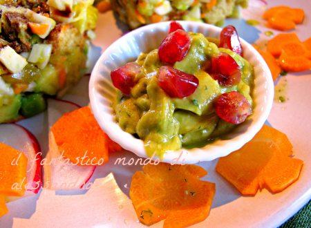 Guacamole salsa ricette internazionale vegan /  Il fantastico mondo di Alessandra