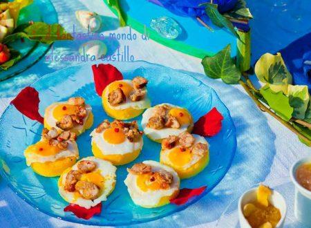La ricetta della polenta con ovetti di  quaglia e salsiccia | Il fantastico mondo di Alessandra
