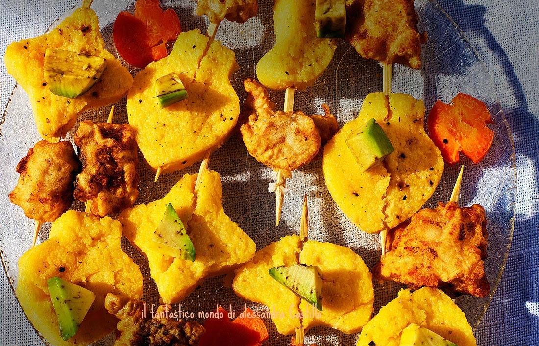 merluzzo in tempura/ ricette del mondo/ Giappone /Alessandra