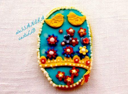 Ovetti di pasqua / biscotti al miele cannella e zenzero/ Alessandra Castillo
